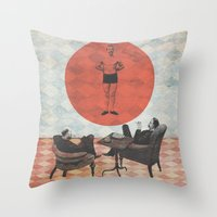 The Candidate Throw Pillow
