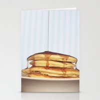 Wake Up and Smell the Pancakes Stationery Cards