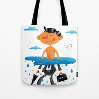 Walk On The Bright Side Tote Bag