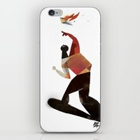kamikaze kite iPhone & iPod Skin