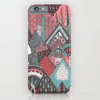 Red mountains iPhone 6 Slim Case