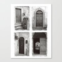 Doors of Rome Canvas Print