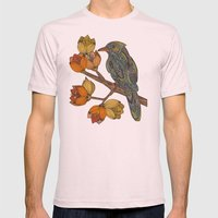 Bravebird Mens Fitted Tee Light Pink SMALL