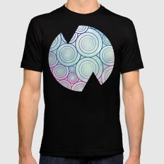 A Plethora of Curls Black Mens Fitted Tee SMALL