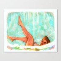 Lili St. Cyr Canvas Print