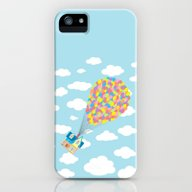 Up! On Clouds iPhone (5, 5s) Slim Case