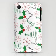 Christmas Pattern iPhone (3g, 3gs) Slim Case
