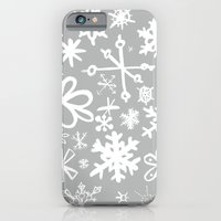 Snowflake Concrete iPhone 6 Slim Case