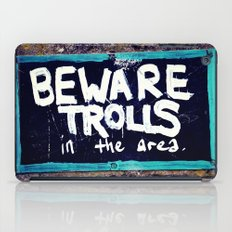 Beware Trolls iPad Case