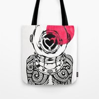 Yakuza Diver From Japan Tote Bag