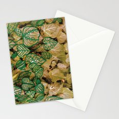 leaves evolved 3 Stationery Cards