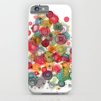 iPhone & iPod Case featuring flower explosion by Asja Boros