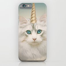 Unicorn Cat Sky iPhone 6 Slim Case