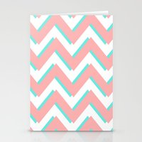 3D CHEVRON 3 Stationery Cards