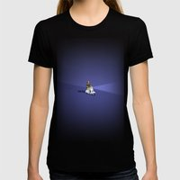 VESPIAMOCI Womens Fitted Tee Black SMALL