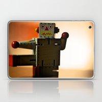 Kung Fu Robot Laptop & iPad Skin