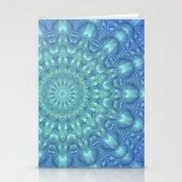 Crystalline Mandala   Stationery Cards