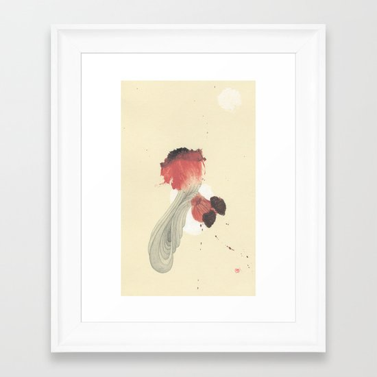 The Little Death Framed Art Print