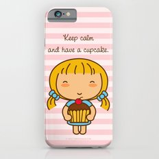Keep calm and have a cupcake. iPhone 6 Slim Case