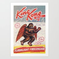 King Kong - Firecrackers Art Print