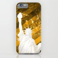 Liberty Gold Pop Art iPhone 6 Slim Case