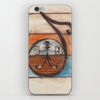 A note of my scale iPhone & iPod Skin