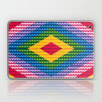 Rainbow Geometry Laptop & iPad Skin
