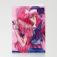 Queen Of Sadness Stationery Cards
