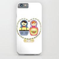 iPhone & iPod Case featuring I {❤} Matryoshka by lilycious