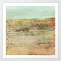 Abstract Horizon Art Print