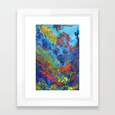 The Reef that Thrived on the Blood of Sailors Framed Art Print