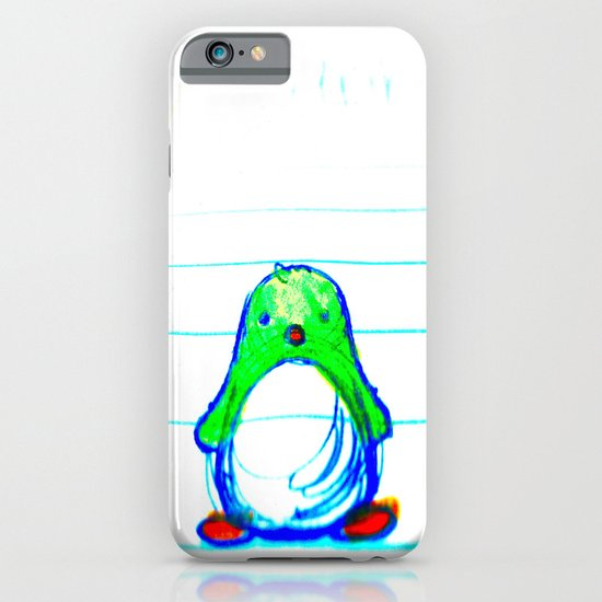Radioactive Penguin iPhone & iPod Case