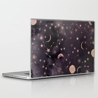 pink Laptop & iPad Skins featuring Constellations  by Nikkistrange