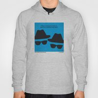 No012 My Blues brothers minimal movie poster Hoody