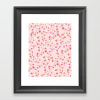 Cherry Blossoms Pink on Pink (For Mackenzie) Framed Art Print