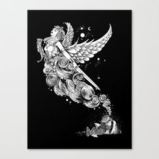 The Night Before the Battle Canvas Print