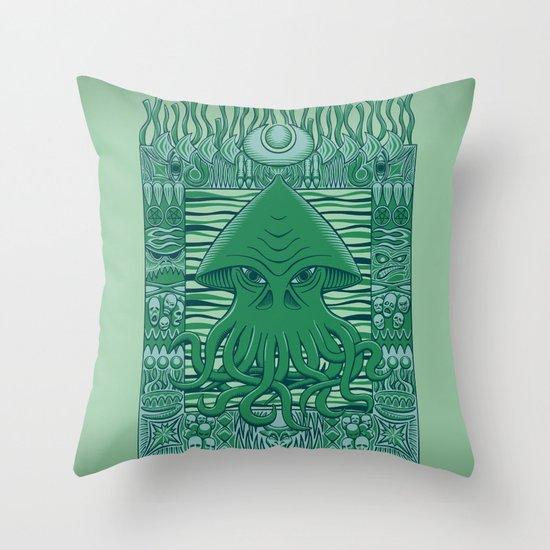 Dreamer in the Deep Throw Pillow
