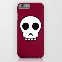 iPhone & iPod Case featuring Goofy skull by Pig's Ear Gear