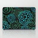 mod flowers iPad Case