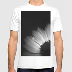 Anemone Mens Fitted Tee SMALL White