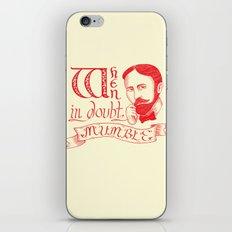 Mumble iPhone & iPod Skin