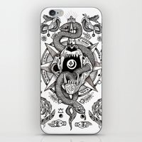 Ad Mortumn iPhone & iPod Skin