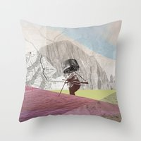 Atmosphere 21 · Groove … Throw Pillow