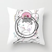 together through it all! Throw Pillow
