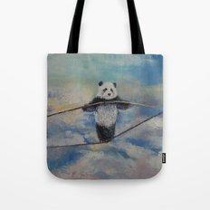 Panda Tightrope Tote Bag