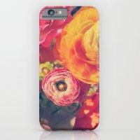 iPhone & iPod Case featuring Ranunculus by DuckyB (Brandi)