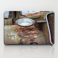 Vintage headlight iPad Case