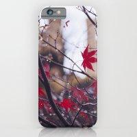 Blood Red Autumn iPhone 6 Slim Case