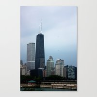 Canvas Print featuring Skyline by Kira Smith