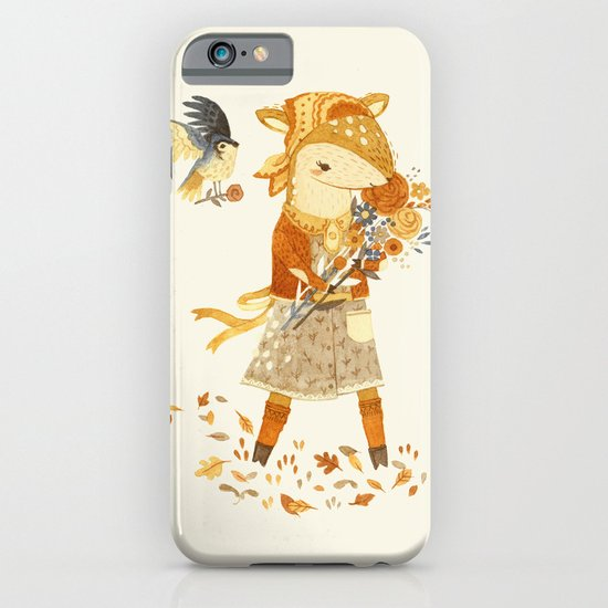 Dakota the Daisy Deer iPhone & iPod Case
